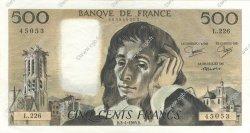 500 Francs PASCAL FRANCE  1985 F.71.33 pr.SPL