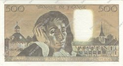 500 Francs PASCAL FRANCE  1991 F.71.46 SUP à SPL