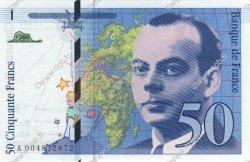50 Francs SAINT-EXUPÉRY FRANCE  1992 F.72.01b