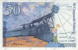 50 Francs SAINT-EXUPÉRY FRANCE  1993 F.72.02 SPL+