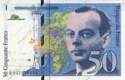 50 Francs SAINT-EXUPÉRY modifié FRANCE  1994 F.73.01d pr.NEUF