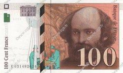 100 Francs CÉZANNE FRANCE  1998 F.74.02 pr.SPL