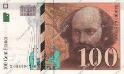 100 Francs CÉZANNE FRANCE  1998 F.74.02 SPL+