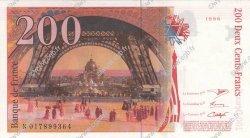 200 Francs EIFFEL FRANCE  1996 F.75.02 SUP+
