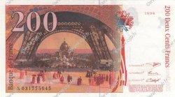 200 Francs EIFFEL FRANCE  1996 F.75.03a SUP+