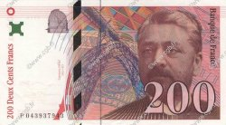 200 Francs EIFFEL FRANCE  1996 F.75.03a SPL+