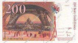 200 Francs EIFFEL FRANCE  1997 F.75.04b pr.NEUF