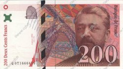200 Francs EIFFEL FRANCE  1999 F.75.05 SPL+