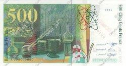 500 Francs PIERRE ET MARIE CURIE FRANCE  1994 F.76.00 NEUF