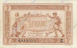 1 Franc TRÉSORERIE AUX ARMÉES FRANCE  1917 VF.03.03 pr.NEUF