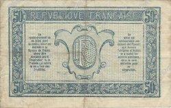 50 Centimes TRÉSORERIE AUX ARMÉES FRANCE  1917 VF.01.02 TTB