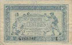 50 Centimes TRÉSORERIE AUX ARMÉES FRANCE  1917 VF.01.05 pr.TTB