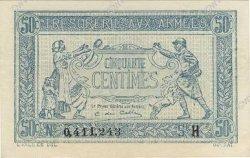 50 Centimes TRÉSORERIE AUX ARMÉES FRANCE  1917 VF.01.08 SPL