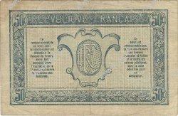 50 Centimes TRÉSORERIE AUX ARMÉES FRANCE  1917 VF.01.10 TB+