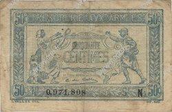 50 Centimes TRÉSORERIE AUX ARMÉES FRANCE  1917 VF.01.14 TB