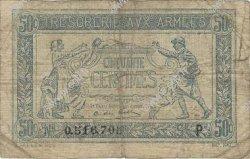 50 Centimes TRÉSORERIE AUX ARMÉES FRANCE  1917 VF.01.16
