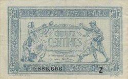 50 Centimes TRÉSORERIE AUX ARMÉES FRANCE  1919 VF.02.09 SUP