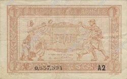 1 Franc TRÉSORERIE AUX ARMÉES FRANCE  1919 VF.04.14 TTB+