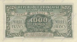 1000 Francs MARIANNE chiffres maigres FRANCE  1945 VF.13.01 SUP à SPL