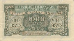 1000 Francs MARIANNE chiffres maigres FRANCE  1945 VF.13.03 SUP