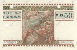 50 Mark SARRE FRANCE  1947 VF.48.01 SPL
