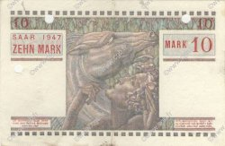 10 Mark FRANCE  1947 VF.47.01 SUP