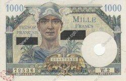 1000 Francs SUEZ FRANCE  1956 VF.43.01 SPL