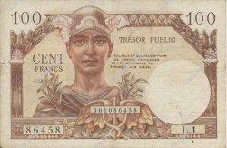100 Francs TRÉSOR PUBLIC FRANCE  1955 VF.34.01 TB+
