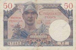 50 Francs TRÉSOR FRANCAIS FRANCE  1947 VF.31.01 TTB+