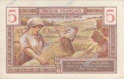 5 Francs TRÉSOR FRANCAIS FRANCE  1947 VF.29.01 pr.NEUF
