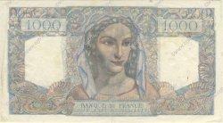 1000 Francs MINERVE ET HERCULE FRANCE  1946 F.41.15 SUP