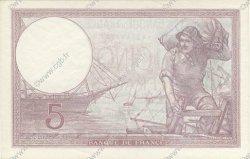 5 Francs VIOLET modifié FRANCE  1939 F.04.01 SUP+