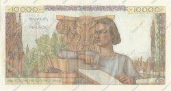10000 Francs GÉNIE FRANÇAIS FRANCE  1954 F.50.72 SUP+