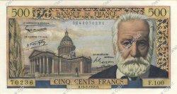 500 Francs VICTOR HUGO FRANCE  1958 F.35.09 pr.NEUF