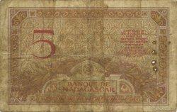 5 Francs MADAGASCAR  1937 P.35 B
