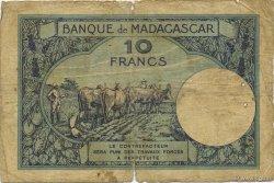 10 Francs MADAGASCAR  1926 K.803b B