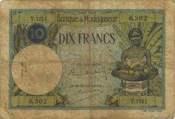 10 Francs MADAGASCAR  1947 K.804b B