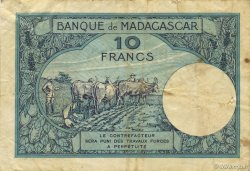 10 Francs MADAGASCAR  1947 K.804b pr.TB