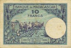 10 Francs MADAGASCAR  1947 P.36 TTB+