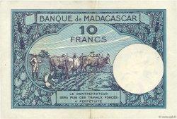 10 Francs MADAGASCAR  1957 P.36 SUP