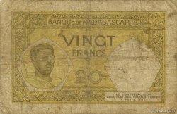20 Francs MADAGASCAR  1948 P.37 B