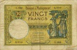 20 Francs MADAGASCAR  1948 K.808b TB
