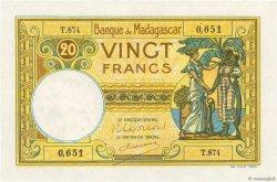 20 Francs MADAGASCAR  1948 K.808b pr.NEUF
