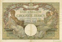 50 Francs MADAGASCAR  1948 K.811b TTB+