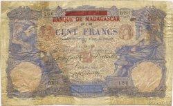 100 Francs MADAGASCAR  1893 K.812 AB