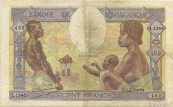 100 Francs MADAGASCAR  1948 K.814b TTB