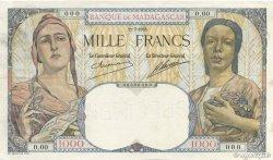 1000 Francs MADAGASCAR  1933 P.41s pr.SPL