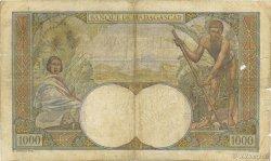 1000 Francs MADAGASCAR  1945 P.41 B+