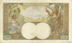 1000 Francs MADAGASCAR  1945 P.41 TTB+