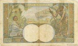 1000 Francs MADAGASCAR  1947 K.817b AB